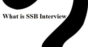 What is SSB Interview?